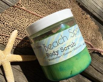 Body Scrub, Spa Scrub, Beach Spa, Beach Scrub, Beach Mothers Day, Mothers Day Gift, Spa Gift, Beach Gift, Beach Birthday Gift