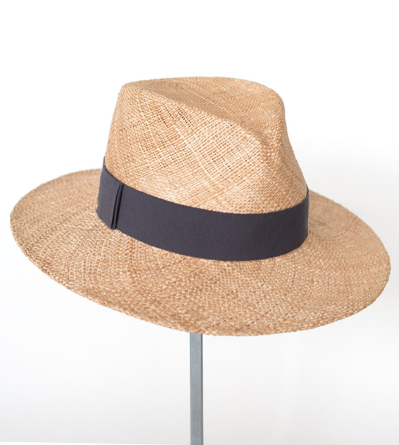 d97d36e4f74 Fedora Men s summer straw hat sun hat millinery
