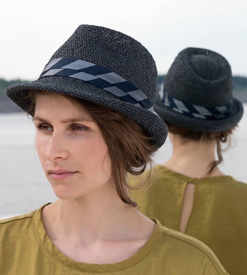 fa4abac48bdde9 Marcello women summer straw hat sun hat exclusive stylish | Etsy