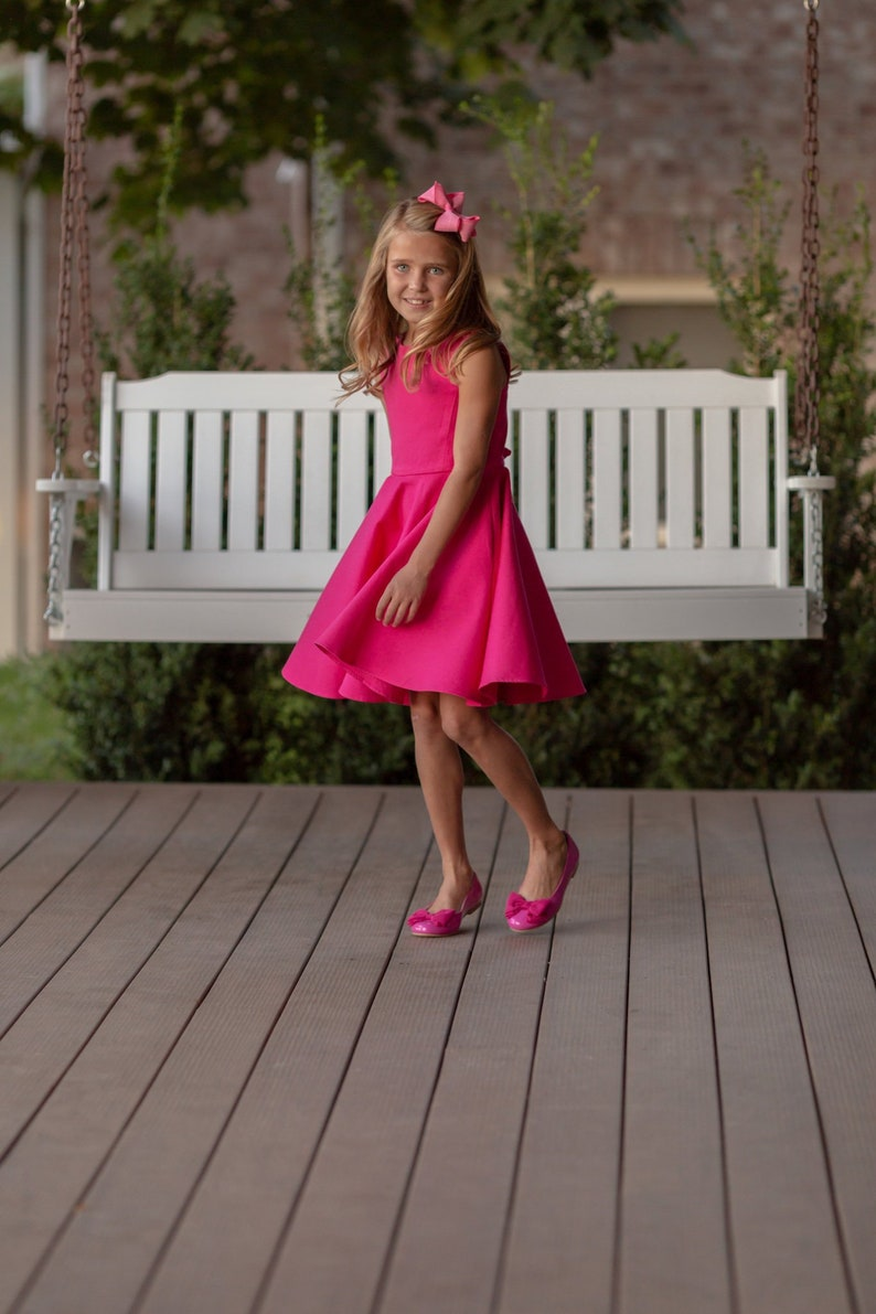 3dc6132bda Pink dress for girls