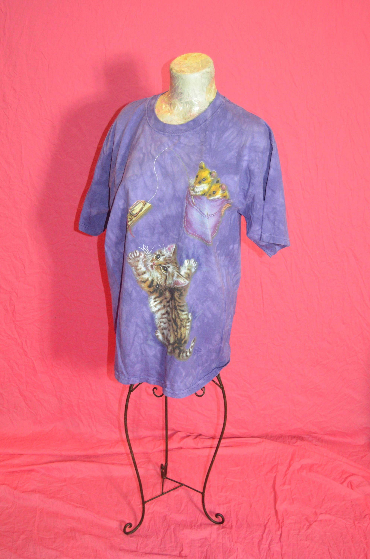 Chaton   chat T Shirt - piège à souris pour   chaton chat chemise   pour 3d42628e1f9a
