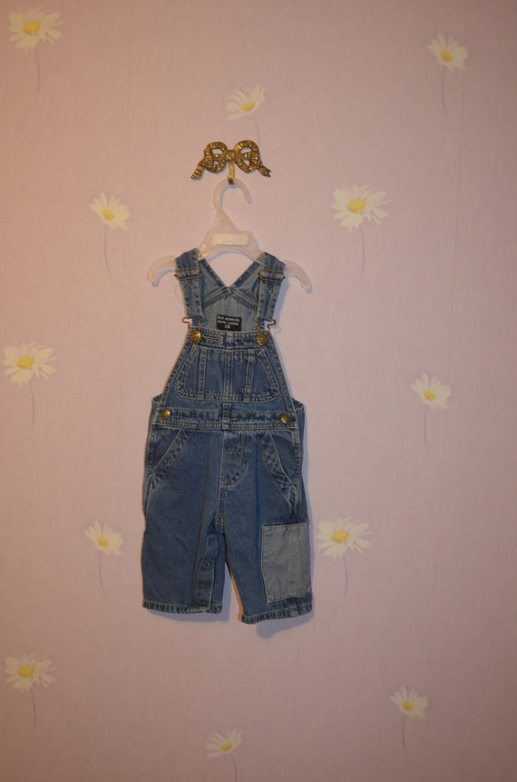 8b533cdb2 Infant Boys Ralph Lauren Polo Jeans co. Denim Overalls
