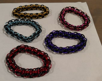 Stretchy Chainmail Bracelets