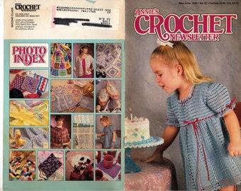 58 Annie/'s Crochet Newsletter Magazine July//August 1992 No