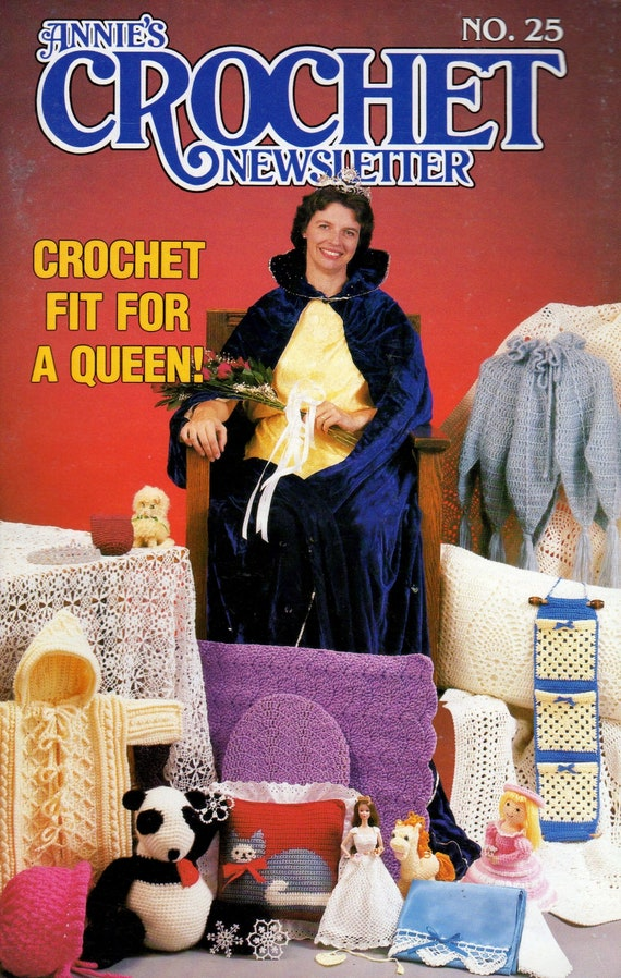 25 January-February 1987 ~ 23 crochet patterns Annie/'s Crochet Newsletter No