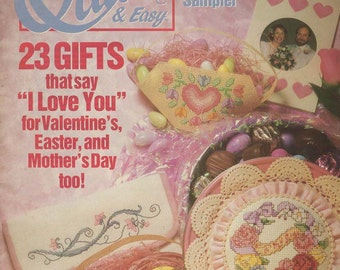 Quick & Easy Cross Stitch -- Feb/Mar 91