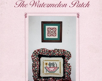 The Watermelon Patch Cross Stitch Pattern Book- Lindy Jane Designs, Inc.