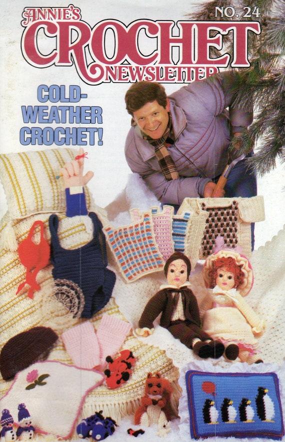 Annie/'s Crochet Newsletter No 23 September-October 1986 ~ 30 crochet patterns