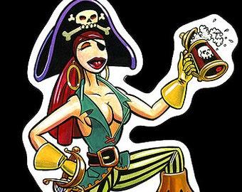 Pizz,STICKER,TATTOO,pirate,PIRATES,pin up,pin ups,monster,monsters,comic art,comic,punk,punk rock,rockabilly,hot rod,rat fink,big daddy roth