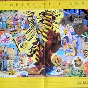Robert Williams,COMICS,Concert Poster,COMIC ART,Comic book,Ed Roth,Rat Fink,Rick Griffin,Psychedelic,Freak Brothers,Hot Rod,Car,Robert Crumb