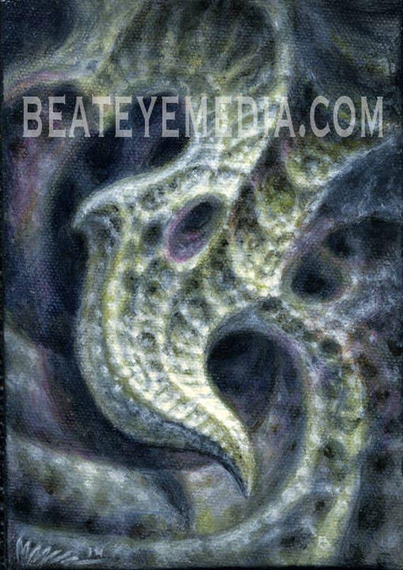 Guy Aitchinson Tatuaż Horror Monster Monsters Demon Etsy