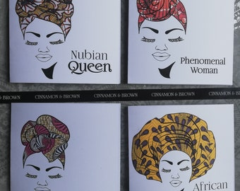 Afrocentric cards etsy headwrap queens headwrap greeting cards afrocentric cards m4hsunfo