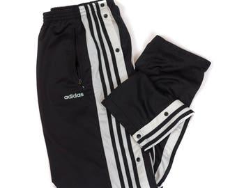 Adidas snap pants | Etsy