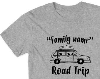 ae73824c9 Car Custom Family Road Trip Shirt - Family Vacation Shirts Road Trip Family Vacation  Tees Custom Family Shirts Vacation Shirts Camping