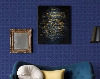 Original abstract acrylic painting, Wall art canvas, Modern Art Abstract Painting, Acrylic painting on Canvas, Original art