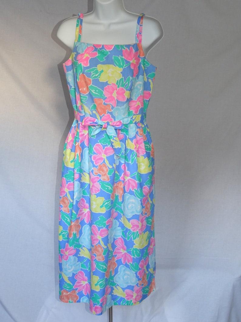 d96789d6e2 Vintage Authentic 1960s Seawaves Sundress