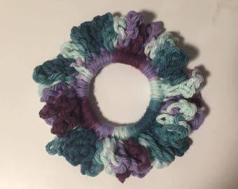 Purple/Blue Scrunchie