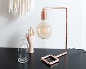 Ice Fishing lamps - Handmade copper lamp - table lamp - desk lamp - accent lamp - reading lamp - faries lamps