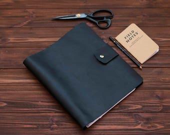 Leather Binder 4-Ring,Leather Binder, Leather Binder Cover, Leather Notebook Cover, Leather Folder,Leather Portfolio, Organizer Leather