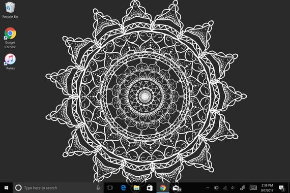Desktop hintergrund auf einmal schwarz
