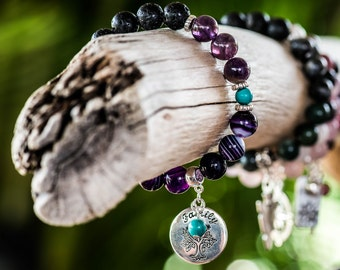 BALANCE | Aromatherapy Gemstone Diffuser Bracelet