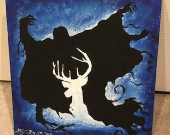 Stag Patronus/Dementor Painting