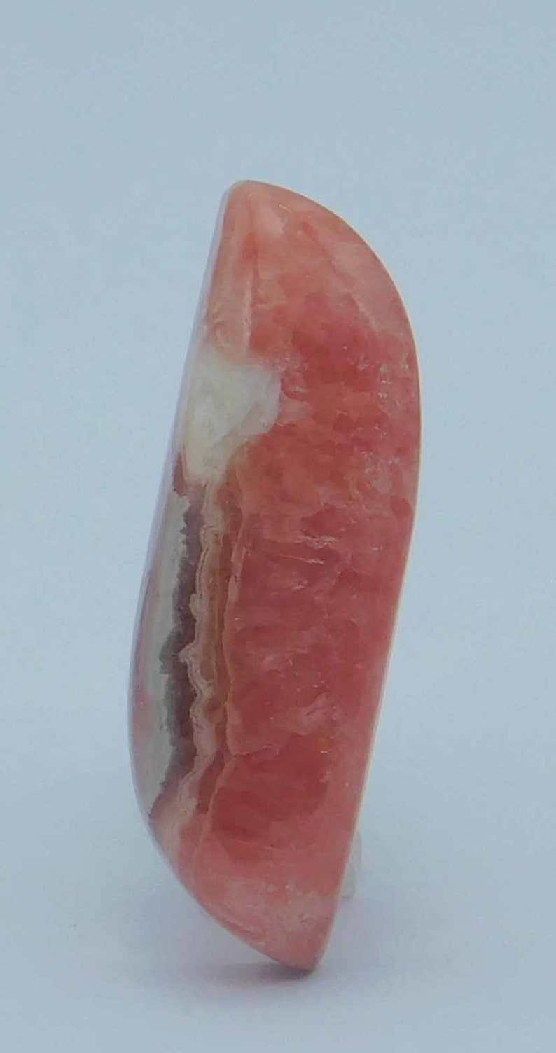 A One Quality Beautiful 100/% Natural Rhodocrosite Cab Beautiful AAA Gemstone Semi Precious Healing Stone Use For Jewelry 32Cts 35x11x7mm