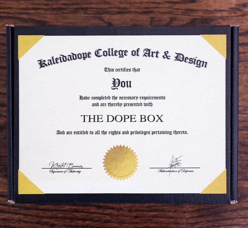 THE DOPE BOX Good Vibes Box Gratitude Box Candles Meditation Box Wellness Box A Dope Wellness Box Positivity Positive Affirmations