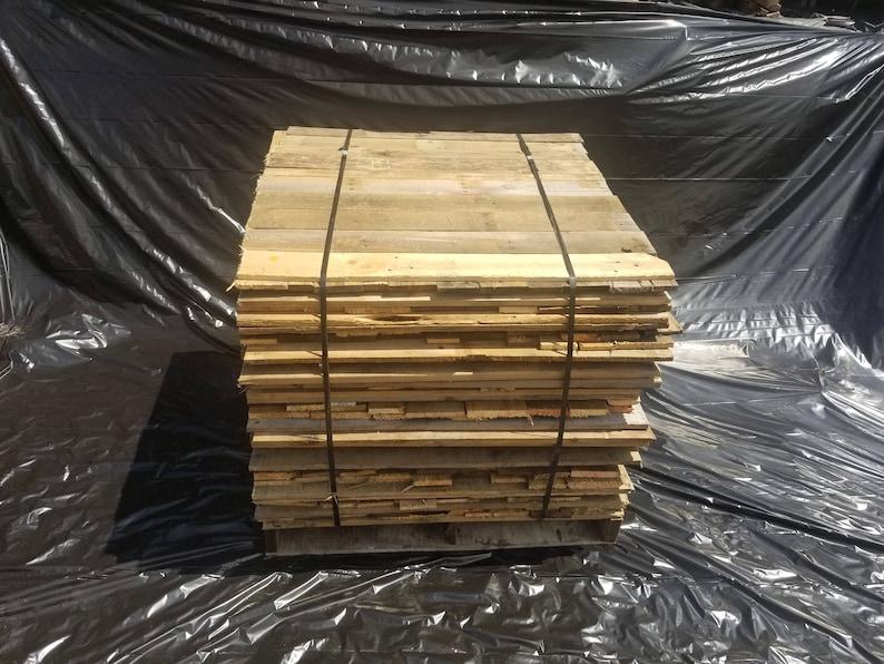 Bulk Reclaimed Pallet boards 400 board cube image 0