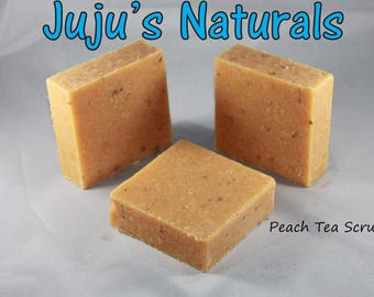 Peach Tea Scrub - Handmade Soap