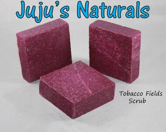 Tobacco Flowers Scrub - Handmade Soap