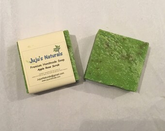 Apple Rose Scrub - Handmade Soap