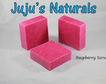 Raspberry Scrub - Handmade Soap