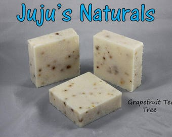Grapefruit Tea Tree Scrub - Handmade Soap