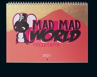 Calendar/taxidermy