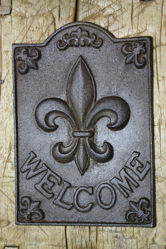 Cast Iron DUCK Plaque Sign DUCKS Home Garden Wall Decor Stepping Stone