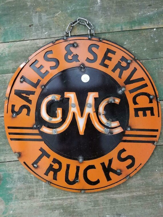 Metal JOHN DEERE Tractor Sign Gas Oil Garage Man Cave Home Decor Recycled
