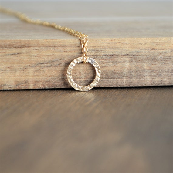 Gold Filled Infinity Necklace, Eternity Necklace, Circle Necklace, Mothers Day Gift, Karma Necklace, Gifts For Her,  Minimalist Jewelry by Etsy
