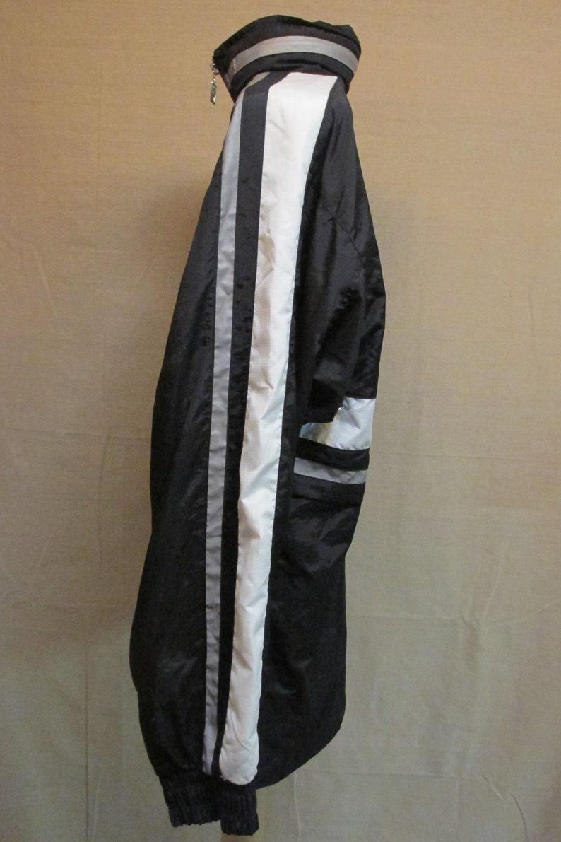 Vintage 1990/'s Pro Celebrity Chevrolet Corvette Black Nylon Hooded Lightweight Zip Up Jacket Men/'s Size M