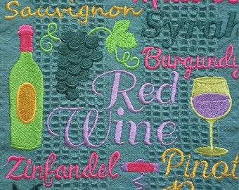 Wine Lovers Kitchen Towel
