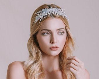 Ariadne Swarovski Crystal Headpiece (Free Shipping)