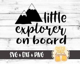 Little Explorer Svg Etsy