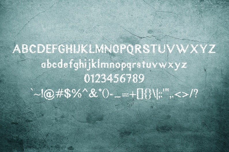 Rustic Oak: A Grunge, Solid, and Stencil Font, Grunge Font, Distressed  Font, Stencil Font, Sans Serif Font, Cricut Font, OTF, TTF