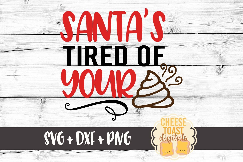 Weihnachten Toilettenpapier Rolle SVG Santa es leid Ihre | Etsy