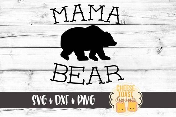 5a35480f Mama Bear SVG Mom Svg Papa Bear Svg Baby Bear Svg Bear   Etsy