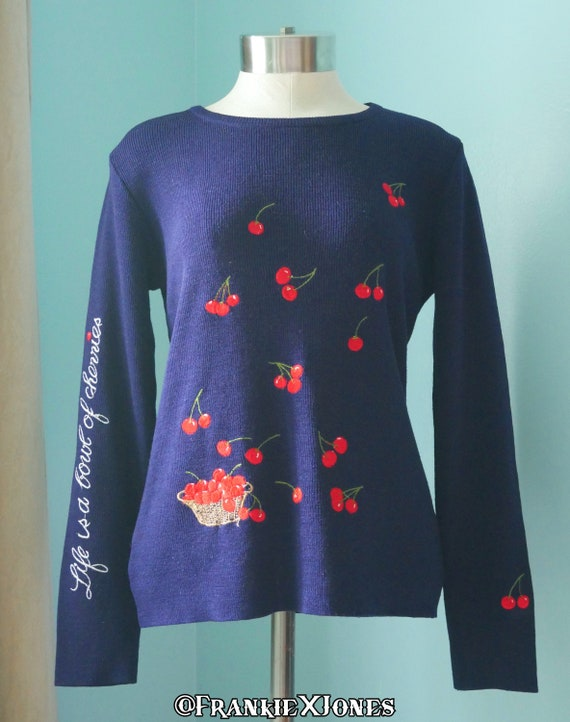 Life Is a Bowl Of Cherries Sweater | Featured in T