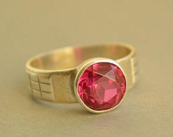 Mens ruby ring | Etsy