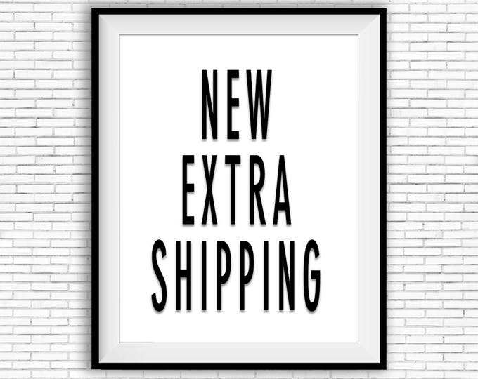 New extra shipment due to address-issue