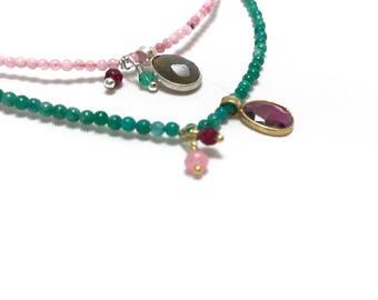 Feel malachite Necklace