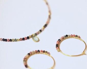 Bell earrings. Hoop earrings. Rings and minerals. Hoops. Silver earrings.